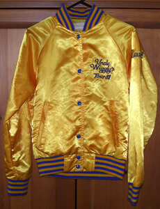Photo- Uncle Wiggly Gold Tour Jacket 1981  -   Uncle Wigglys Hot Shoes Blues Band