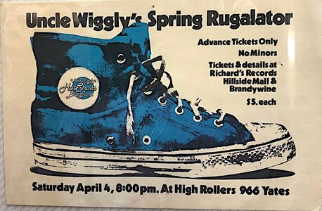 Photo- 1981 credit Robert Newell  -   Uncle Wigglys Hot Shoes Blues Band  - Photo Credit: