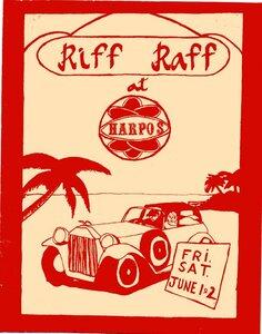 Photo- Riffraffharpospstr  -   Riff Raff-Victoria