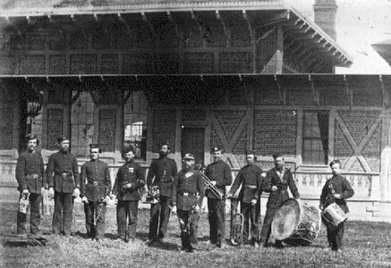 Photo- 5th bc field regiment during the late 1800s.jpg  -   5th (BC) Field Regiment, RCA Band