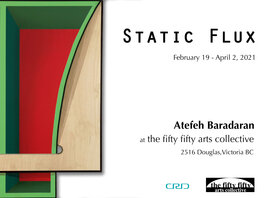 Static Flux: Atefeh Baradaran  @ the fifty fifty arts collective Feb 19 2021 - Feb 25th @ the fifty fifty arts collective