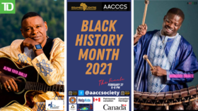 Issamba Bites - Grand Finale - Black History Month 2021: Alpha Yaya Diallo, Mamadou Diabate @ Online Feb 27 2021 - Feb 25th @ Online