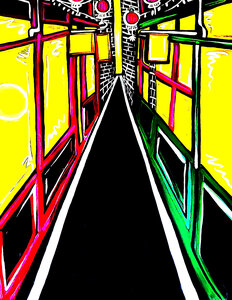 Fan Tan Alley by  Leah Craig