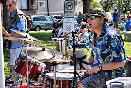 Photo- With Seacruze @  Music in the Park, Langford  -   Dave Pretty  - Photo Credit:  Carol Unfreed