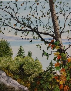 View From the Malahat by  Laurel Rossnagel