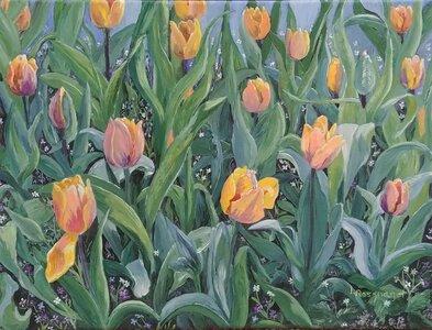 Tulipville by  Laurel Rossnagel