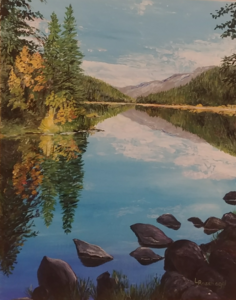Valley of Five Lakes by  Laurel Rossnagel
