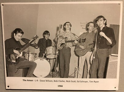 Photo- Part of the Permanent Local Music Exhibition at the Sault Ste Marie Museum  -   The Amen  +  Sault Ste Marie Museum