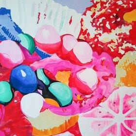 Variegated Sweets: Rachel Vanderzwet - Oct 26th @ Ministry of Casual Living Window Gallery