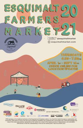 Esquimalt Farmers Market's 7th Season in Bullen Field @ Bullen Field May 27 2021 - Oct 25th @ Bullen Field