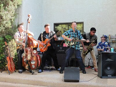 Photo -   HANK ANGEL and his ISLAND DEVILS  - Photo Credit:  Photo by Sally Coveney