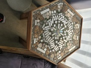 Abstract hex table by  Miles guilbault