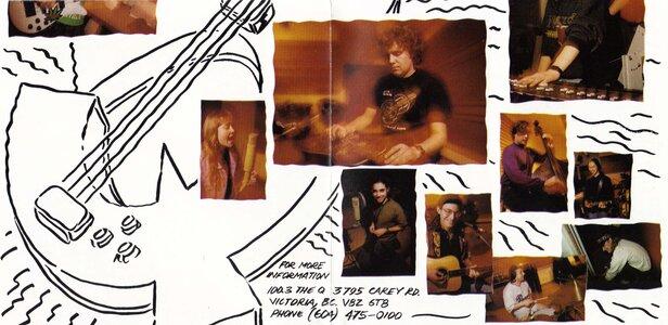 Photo- Rocktoria 6 CD Inside Sleeve2  -   Rocktoria 6 1994