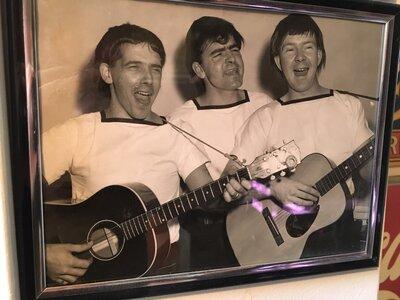 Photo- The Bugs L-R Harvey Parsons (guitar, vocals), Bob Descoteau (vocals), and Bob Anderson (guitar, vocals)  -   The Bugs  - Photo Credit:  Don Descoteau