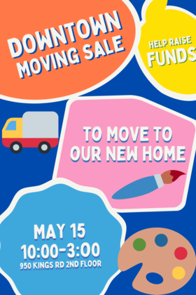 Vancouver Island School of Art Moving Sale @ Vancouver Island School of Art May 15 2021 - May 13th @ Vancouver Island School of Art