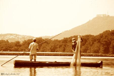 Fishermen by  Ricky Lalinde