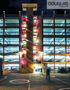 Musical Staircase at Yates St. Parkade by  Monkey C Interactive