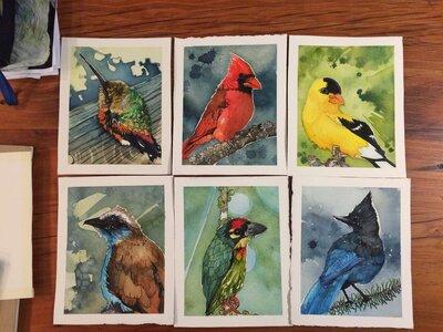 Jaxxon's Birds Commission by  Kristofer Parley