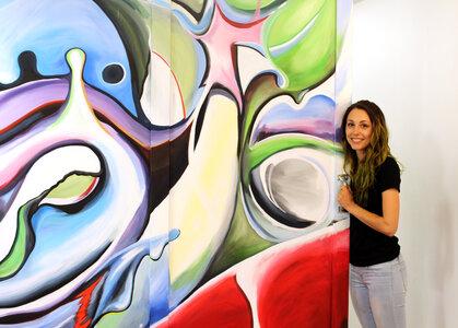 Mural 2017 by  Nicole Majcher