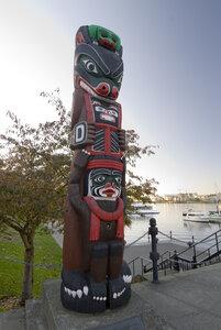 Kwakiutl Bear Pole by  Henry Hunt