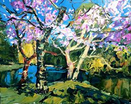 BEACON HILL SPRING by  Brian Simons