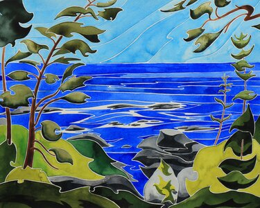 Ucluelet Horizon by  Andrea England