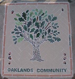 Oaklands Park Mosaic by  Sandra Millott
