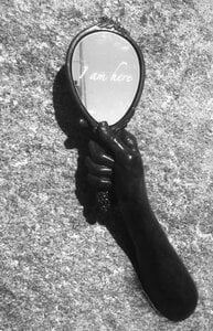 Hands of Time - Holding a Mirror by  Crystal Przybille