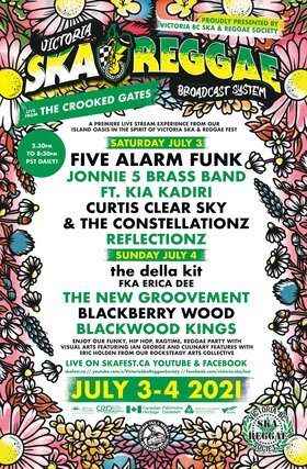 Live from the Crooked Gates (Day 2): The Della Kit fka Erica Dee, The New Groovement, Blackberry Wood, Blackwood Kings @ The Crooked Gates Jul 4 2021 - Sep 26th @ The Crooked Gates