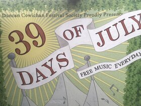 39 Days of July: Daniel Cook & The Radiators @ Downtown Duncan at 7:00 p.m. Aug 1 2021 - Sep 24th @ Downtown Duncan at 7:00 p.m.