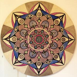 Sahasrara by  Daniel Poisson