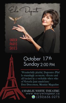 Under Paris Skies: Edie DaPonte, Joey Smith, Jeff Poynter, Jonathan Eng @ The Mary Winspear Centre Oct 17 2021 - Sep 18th @ The Mary Winspear Centre