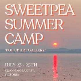 Summer Camp: Cassia Powell, Georgia Tooke, April Winter, Rudra Manani, Alex Jensen, Chantel Clausen @ 842 Cormorant St. Jul 23 2021 - Sep 24th @ 842 Cormorant St.