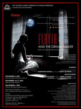 Flavia and the Dream Maker @ Dave Dunnet Theatre Nov 6 2021 - Oct 17th @ Dave Dunnet Theatre