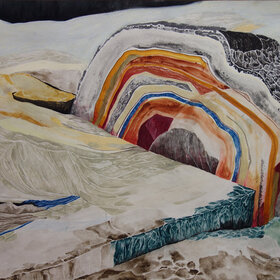 Soundwalk - ON GROWING, ROCKS: Jenni Schine @ the fifty fifty arts collective Aug 6 2021 - Oct 25th @ the fifty fifty arts collective