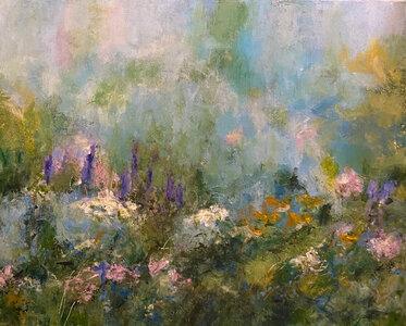 A Burst of Spring by  Katharine Geddes