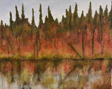 Autumn Forest by  Katharine Geddes