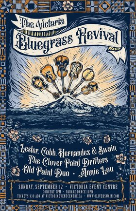 The Victoria Bluegrass Revival: Oliver Swain @ Victoria Event Centre Sep 12 2021 - Sep 24th @ Victoria Event Centre