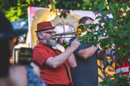 Photo -   Jonnie 5 Brass Band  - Photo Credit:  Colin Smith