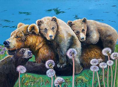 TheBears_LetmeLive by  Carole Finn (OSA SFCA)