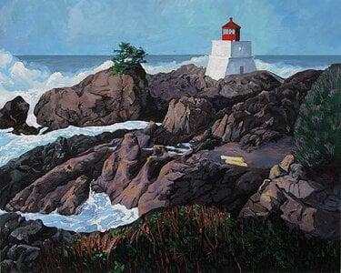 WildPacificTrail_Amphorite_Lighthouse by  Carole Finn (OSA SFCA)