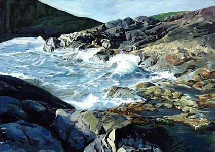 Pacific Rim_Rosie'sBay by  Carole Finn (OSA SFCA)