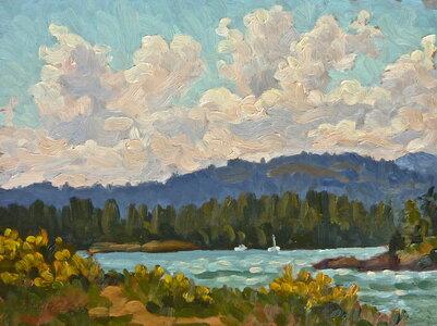 Thetis Cove Thunder Heads by  Jeffrey J Boron