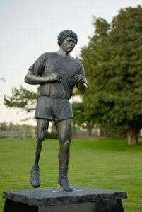 Terry Fox Memorial by  Nathan Scott