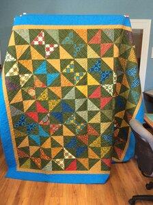 Marathon Quilt #3 by  Della Cronkrite