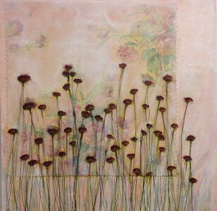 Flower Fabric Series #4 by  Lisa Jackson
