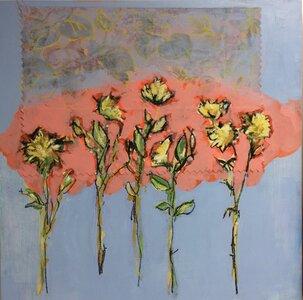 Flower Fabric Series #1 by  Lisa Jackson