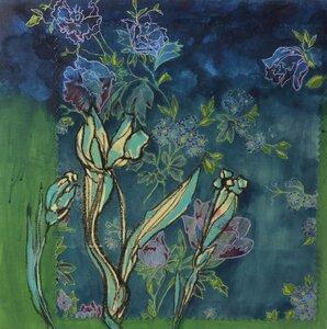FLOWER FABRIC SERIES #2 by  Lisa Jackson