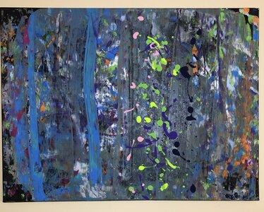 Blue Trees by  Cheryl HOOSON