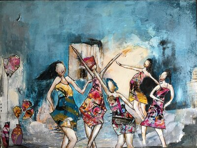Never Stop Dancing by  Gabriela Hirt